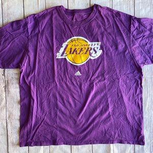 LA Lakers Los Angeles Adidas men's T-shirt plus